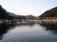 東古屋湖・キャンプ場手前