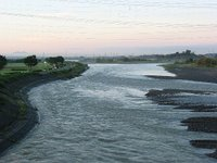 鬼怒川(阿久津大橋)(2009/8/12)