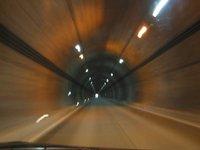 川俣湖へ向かう途中のトンネル