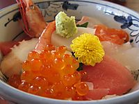 松島・さんとり茶屋の海鮮丼