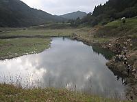 東古屋湖の様子(2011/10/02)