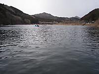 東古屋湖キャンプ場前