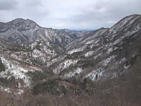 大笹牧場下から山々の眺め