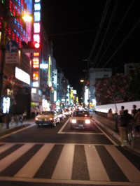 松山市・八坂通り