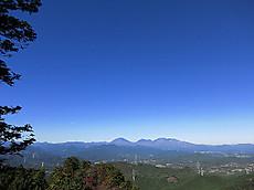 古賀志山から見た日光連山