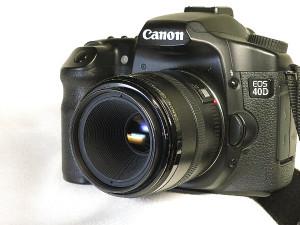 キャノン EF 50mm F2.5 コンパクトマクロとEOS40D