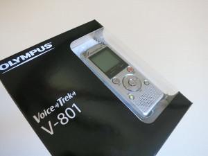 オリンパス OLYMPUS ICレコーダー VoiceTrek V-801