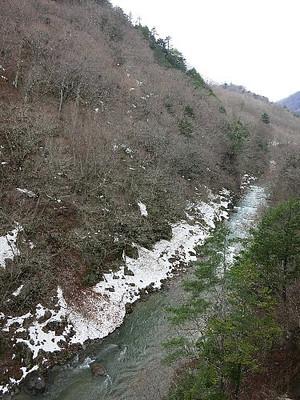 鬼怒川本流の渓流