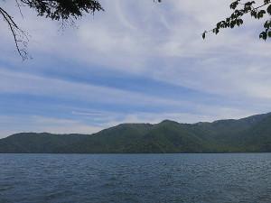 中禅寺湖の様子