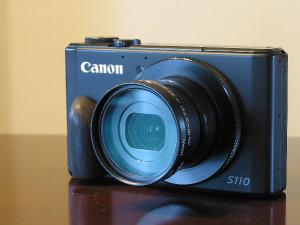 水没した後、乾燥させた「Canon Power Shot S110」