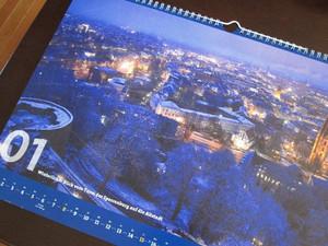 ドイツから送られてきたカレンダー