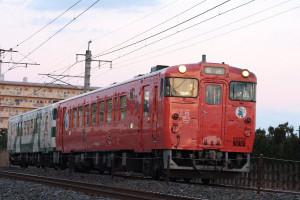 烏山線「キハ40形」1004