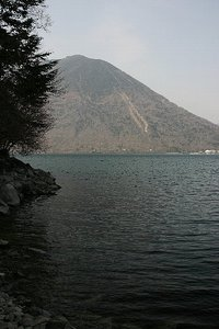 小寺ケ崎から見る男体山