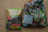 百均の昆虫マットと園芸用腐葉土
