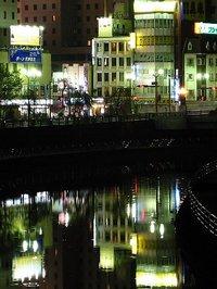 田川・夜景
