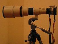 Canon NFD500F4.5L+EOS KISS DIGITAL