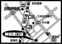 タックルベリー神田南口店の地図